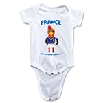 France 2014 FIFA World Cup Brazil(TM) Mascot Onesie (White)