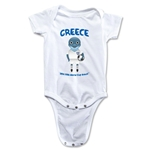 Greece 2014 FIFA World Cup Brazil(TM) Mascot Onesie (White)