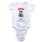 Japan 2014 FIFA World Cup Brazil(TM) Mascot Onesie (White)