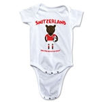 Switzerland 2014 FIFA World Cup Brazil(TM) Mascot Onesie (White)