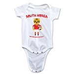 South Korea 2014 FIFA World Cup Brazil(TM) Mascot Onesie (White)