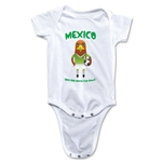 Mexico 2014 FIFA World Cup Brazil(TM) Mascot Onesie (White)