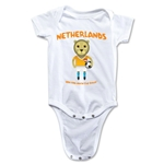 Netherlands 2014 FIFA World Cup Brazil(TM) Mascot Onesie (White)