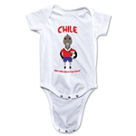 Chile 2014 FIFA World Cup Brazil(TM) Mascot Onesie (White)