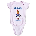 France 2014 FIFA World Cup Brazil(TM) Mascot Onesie (Pink)
