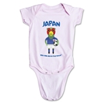 Japan 2014 FIFA World Cup Brazil(TM) Mascot Onesie (Pink)