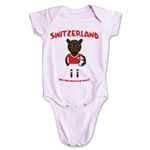 Switzerland 2014 FIFA World Cup Brazil(TM) Mascot Onesie (Pink)