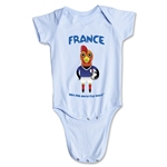 France 2014 FIFA World Cup Brazil(TM) Mascot Onesie (Sky)