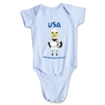 USA 2014 FIFA World Cup Brazil(TM) Mascot Onesie (Sky)