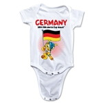 Germany 2014 FIFA World Cup Brazil(TM) Mascot Flag Onesie (White)