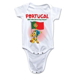 Portugal 2014 FIFA World Cup Brazil(TM) Mascot Flag Onesie (White)