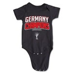Germany 2014 FIFA World Cup Brazil(TM) Champions Logotype Onesie (Black)