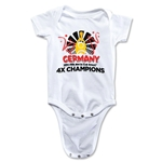 Germany 2014 FIFA World Cup Brazil(TM) Champions Official Look Trophy Onesie (White)