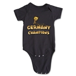 Germany 2014 FIFA World Cup Brazil(TM) Champions Trophy Onesie (Black)