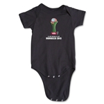 FIFA Club World Cup Morocco 2013 Official Emblem Onesie (Black)