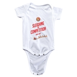 FC Santa Claus Sleighing the Competition Infant Onesie (White)