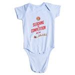 FC Santa Claus Sleighing the Competition Infant Onesie (Sky)