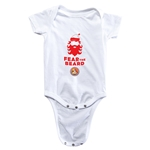 FC Santa Claus Fear the Beard Infant Onesie (White)