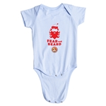 FC Santa Claus Fear the Beard Infant Onesie (Sky)