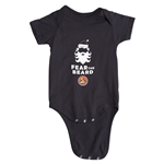 FC Santa Claus Fear the Beard Infant Onesie (Black)