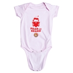 FC Santa Claus Fear the Beard Infant Onesie (Pink)