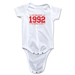 FC Santa Claus Established 1992 Infant Onesie (White)