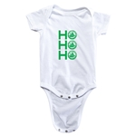 FC Santa Claus Ho, Ho, Ho Infant Onesie (White)