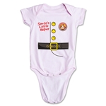 FC Santa Claus Santa's Little Helper Infant Onesie (Pink)