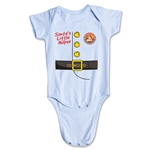 FC Santa Claus Santa's Little Helper Infant Onesie (Sky)