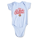 FC Santa Claus Pride of Finland Infant Onesie (Sky)