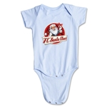 FC Santa Claus Animated Santa Infant Onesie (Sky)