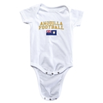 Anguilla Football Onesie (White)
