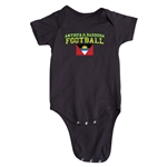 Antigua & Barbuda Football Onesie (Black)