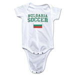 Bulgaria Soccer Onesie (White)