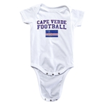 Cape Verde Football Onesie (White)