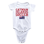 Cayman Islands Soccer Onesie (White)