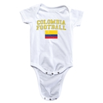 Colombia Football Onesie (White)