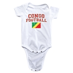 Congo Football Onesie (White)