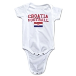 Croatia Football Onesie (White)