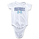 Guatemala Football Onesie (White)