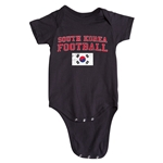 South Korea Football Onesie (Black)