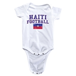 Haiti Football Onesie (White)
