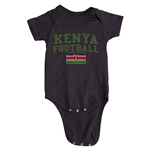 Kenya Football Onesie (Black)