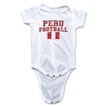 Peru Football Onesie (White)