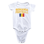 Romania Football Onesie (White)