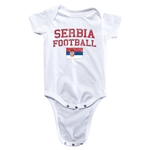 Serbia Football Onesie (White)