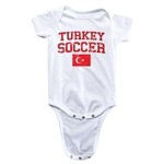 Turkey Soccer Onesie (White)