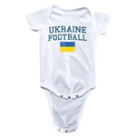 Ukraine Football Onesie (White)