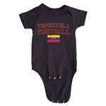 Venezuela Football Onesie (Black)