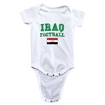 Iraq Football Onesie (White)